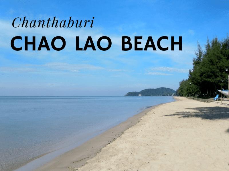 Chao Lao beach, Chanthaburi