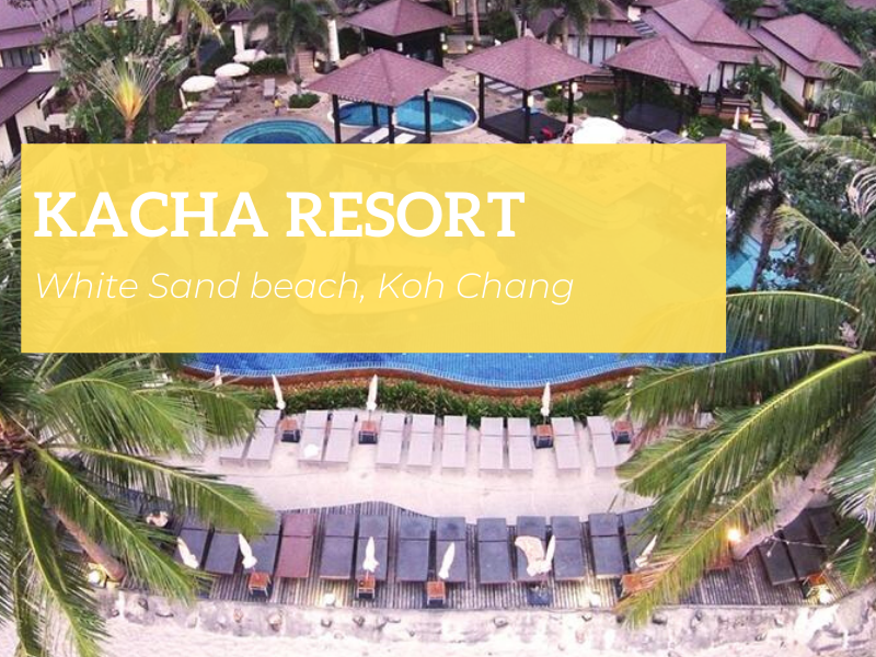 Kacha Resort & Spa, White Sand beach, Koh Chang