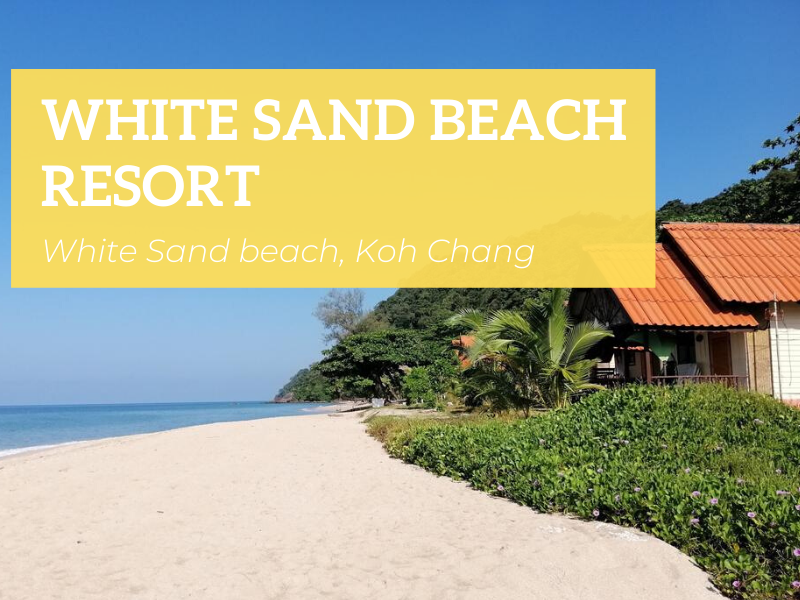 White Sand Beach Resort, Koh Chang