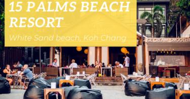 15 Palms Beach Resort, White Sand beach, Koh Chang