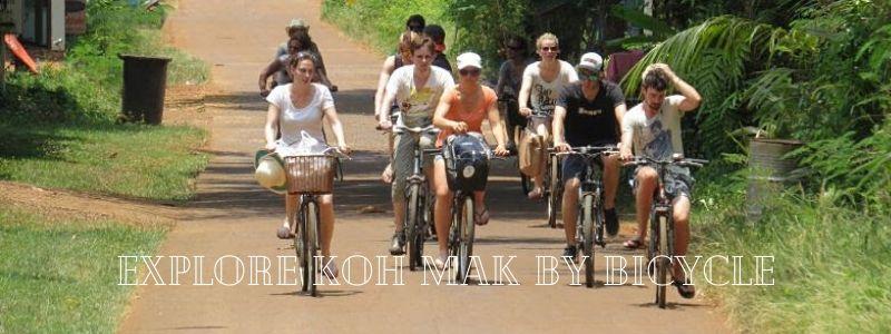 Explore Koh Mak by bicycle