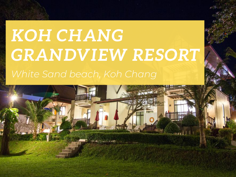 Koh Chang Grandview Resort, White Sand beach