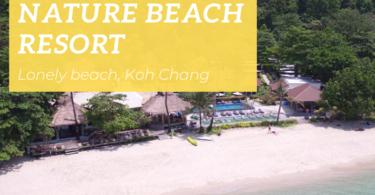 Nature Beach Resort, Lonely beach, Koh Chang