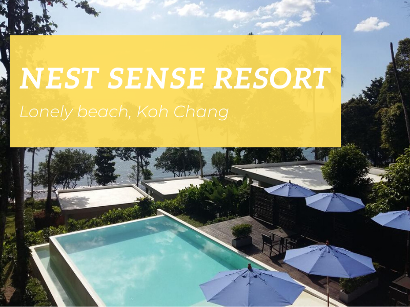 Nest Sense Resort, Lonely Beach, Koh Chang
