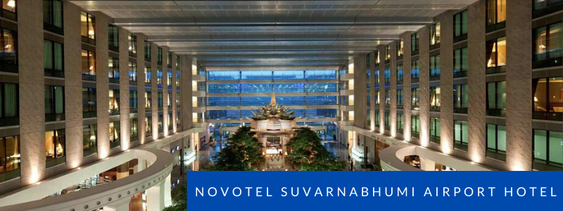 Lobby of the Novotel Suvarnabhumi Airport Hotel