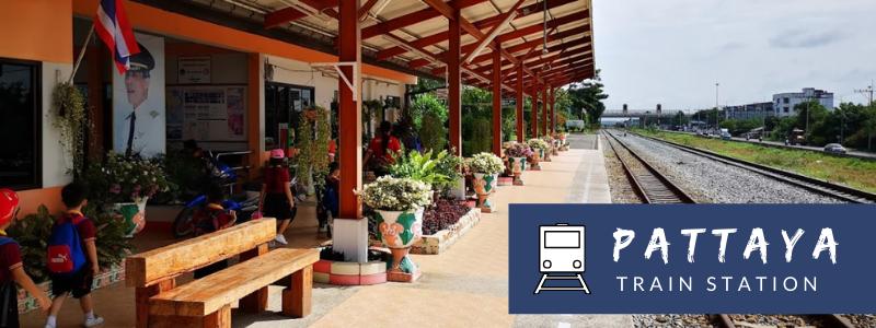 Pattaya train station