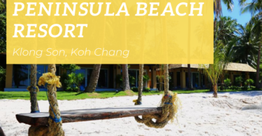 PeninsualBeach Resort, Klong Son beach, Koh Chang