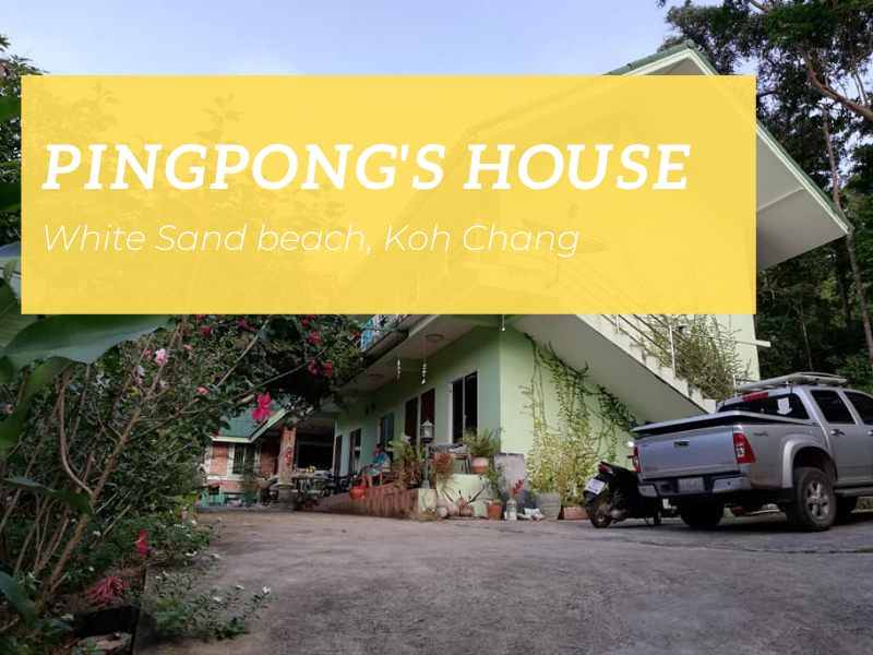 Pingpong's House, White Sand beach, Koh Chang