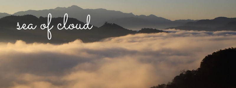 Sea of cloud in northern Thailand