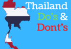 Thailand Dos and Donts. Tips and Advice