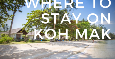 Where to stay on Koh Mak