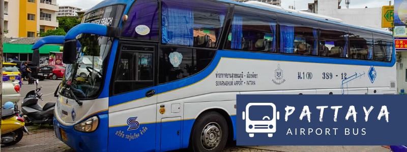 389 Airport Bus from Pattaya to Suvarnabhumi