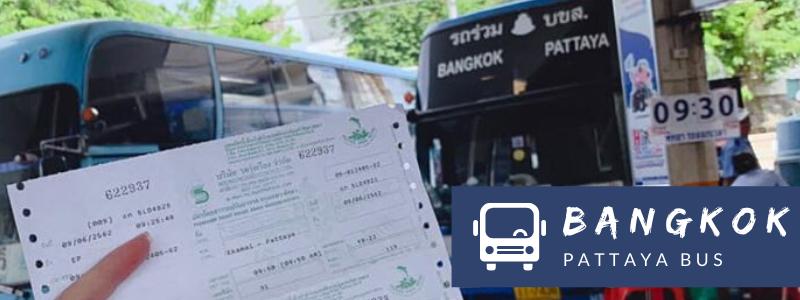 Bus from Bangkok to Pattaya at Ekamai Bus Station