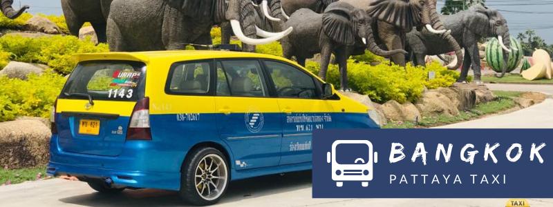 Taking a taxi from Bangkok to Pattaya