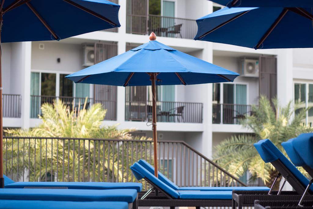 Pool view room balconies. At Koh Chang Paradise Hill Resort