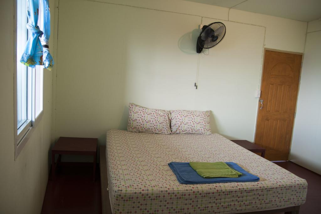 Basic but clean room at Baan Na.