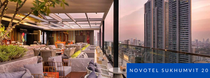 Rooftop bar at Novotel Sukhumvit Soi 20 Bangkok