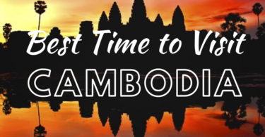 Best time to visit Angkor Wat at Sunset