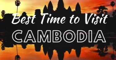 Best time to visit Angkor Wat at Sunset
