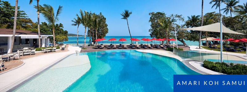 Swimming pool at Amari Koh Samui