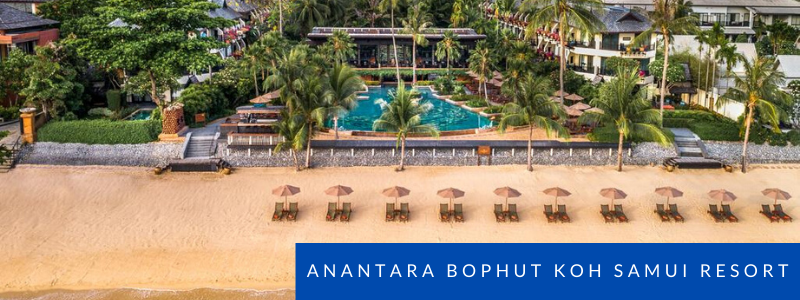 Beachfront at Anantara Bophut Koh Samui Resort