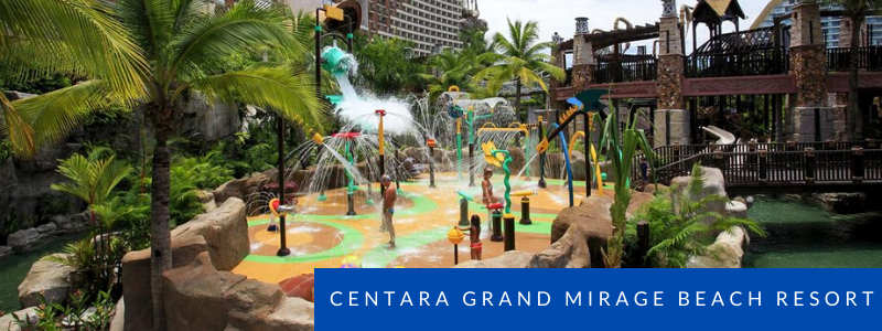 Water park at Centara Grand Mirage, Pattaya
