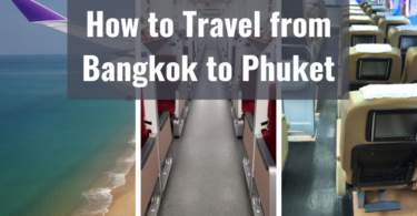 How to Travel from Bangkok to Phuket