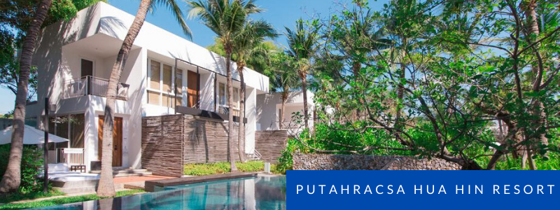Pool villa at Putahracsa Hua Hin Resort