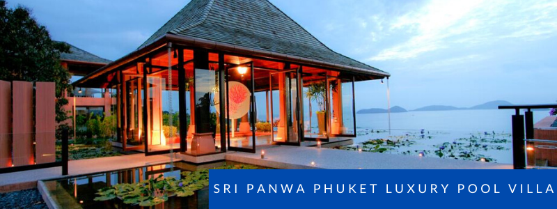 View over the sea at Sri Panwa Pool Villas Phuket