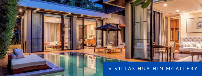 pool at V Villas Hua Hin MGallery