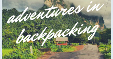 Backpacking in the jungle in Burma