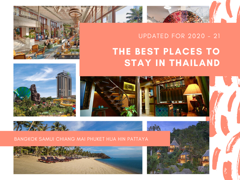 Best places to stay in Thailand