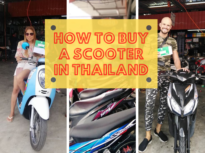 How to buy a motorbike in Thailand