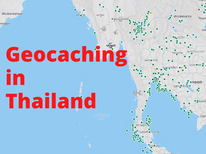 Geocaching in Thailand