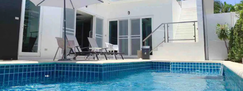 three bedroom pool villa pattaya