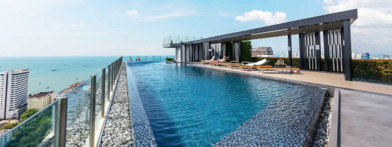 two bedroom condo at the Base Pattaya