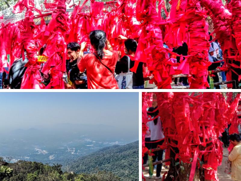 Khao Khitchakut red cloth