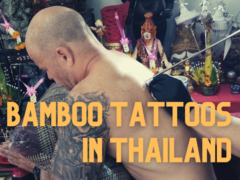 bamboo tattoo in Thailand