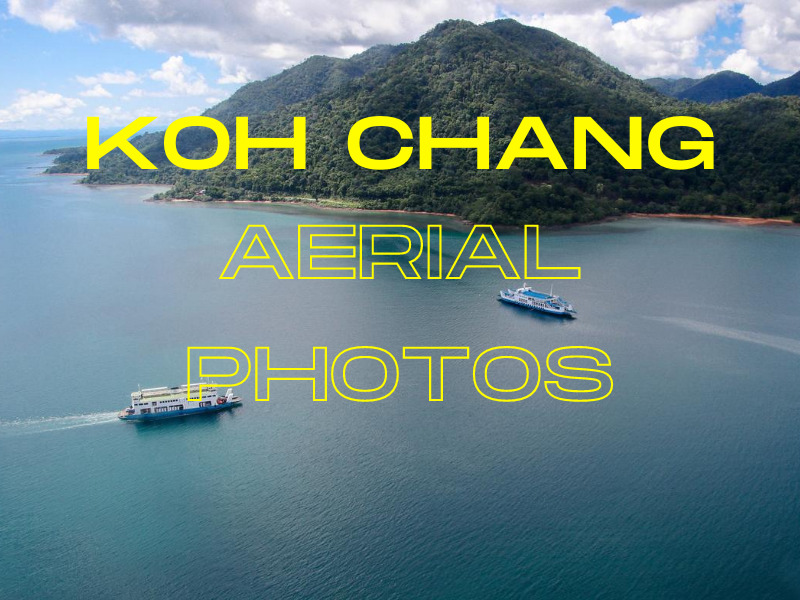 koh chang from above