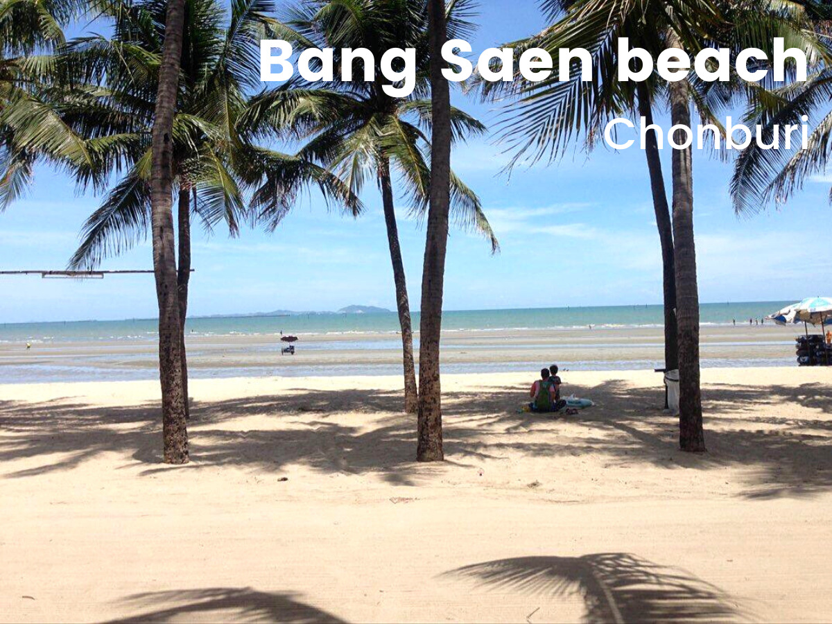 Bang Saen beach near Bangkok