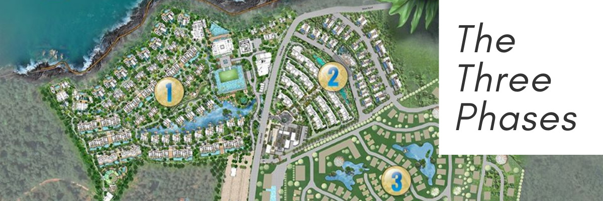 Three phases AQ Residences Koh Chang